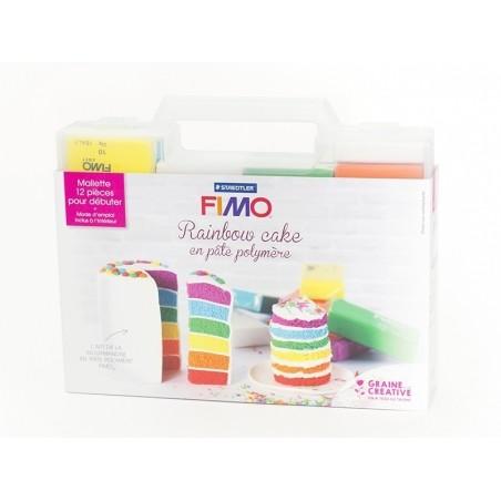 Kit fimo - Mallette Rainbow cake Fimo - 6