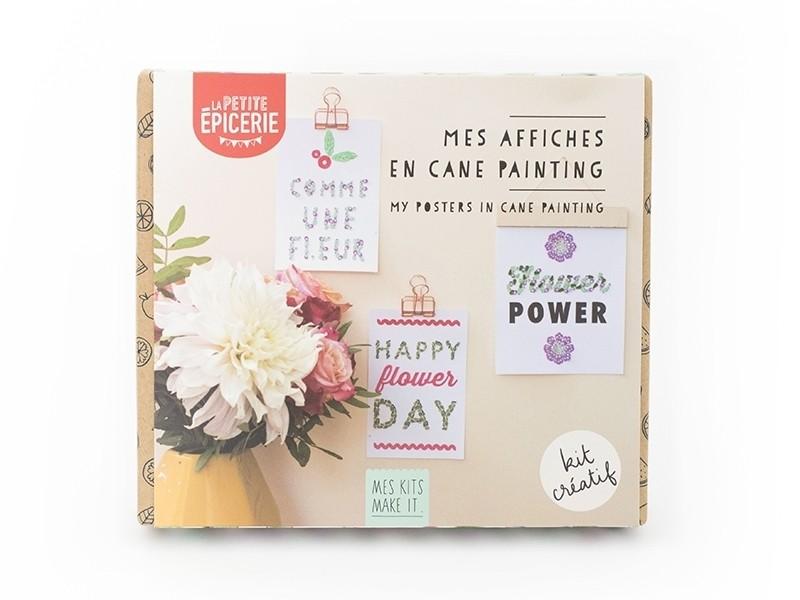 Kit MKMI - Mes affiches en cane painting La petite épicerie - 1