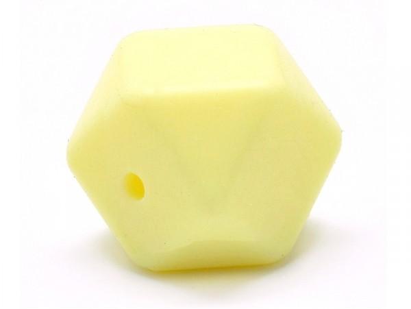 Acheter Perle géométrique de 14 mm en silicone - jaune - 0,99€ en ligne sur La Petite Epicerie - 100% Loisirs créatifs