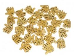 1 Breloque hand made - dorée