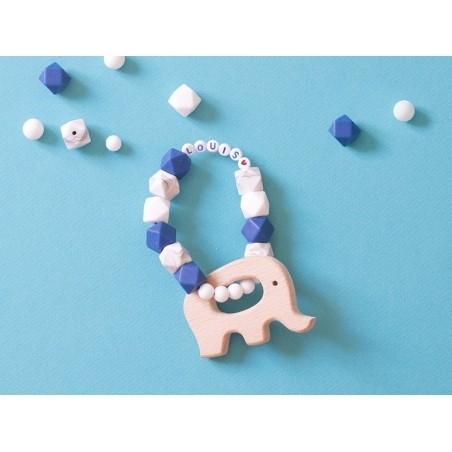 Acheter Accessoire pour hochet montessori / jouet de dentition en bois - Eléphant - 2,99€ en ligne sur La Petite Epicerie - ...