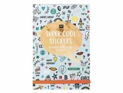 Carnet de stickers, Wonderland - vert menthe