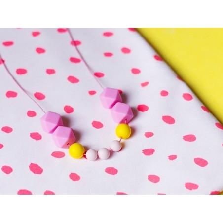 Acheter Perle géométrique de 14 mm en silicone - rose - 0,99€ en ligne sur La Petite Epicerie - Loisirs créatifs