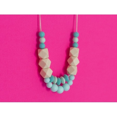 Acheter Perle ronde 12 mm en silicone - turquoise - 0,59€ en ligne sur La Petite Epicerie - Loisirs créatifs