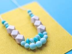 Acheter Perle ronde 8 mm en silicone - bleu turquoise - 0,49€ en ligne sur La Petite Epicerie - Loisirs créatifs