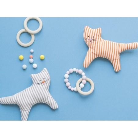 Acheter Perle ronde 8 mm en silicone - blanc - 0,49€ en ligne sur La Petite Epicerie - Loisirs créatifs