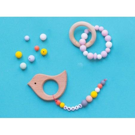 Acheter Perle ronde 12 mm en silicone - parme - 0,59€ en ligne sur La Petite Epicerie - 100% Loisirs créatifs