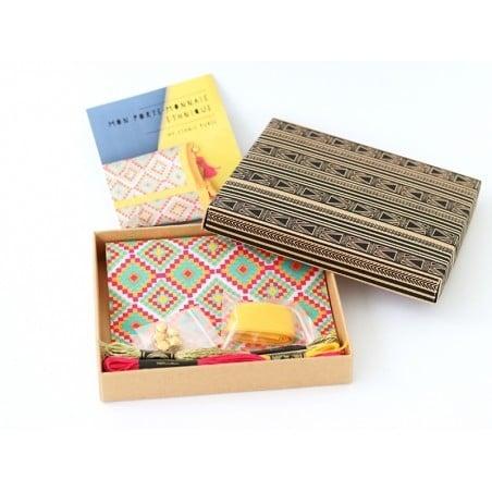 Acheter MKMI - Kit Do IT Yourself mon porte-monnaie ethnique - 16,99€ en ligne sur La Petite Epicerie - Loisirs créatifs