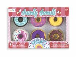 Lot de 6 gommes donuts Ooly - 1