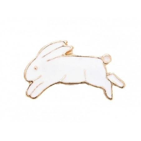 Acheter Mini broche pin's Lapin blanc - 4,99€ en ligne sur La Petite Epicerie - Loisirs créatifs