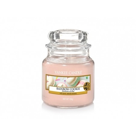 Acheter Bougie Yankee Candle - Rainbow Cookie / Fantaisies Sucrées - Petite Jarre - 11,89€ en ligne sur La Petite Epicerie -...