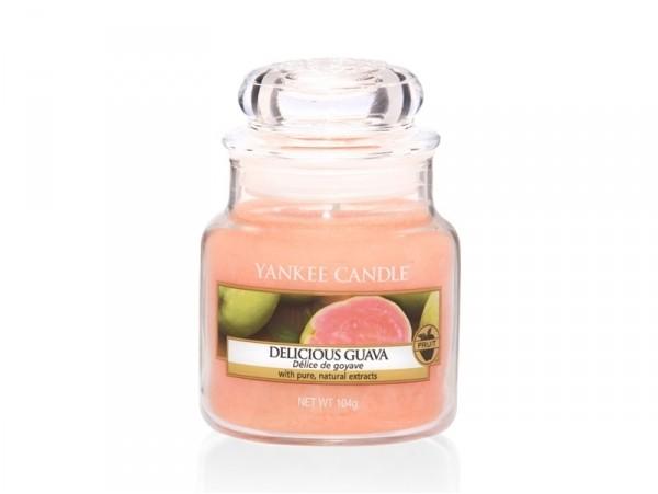 Acheter Bougie Yankee Candle - Delicious Guava / Délice de goyave - Petite Jarre - 11,89€ en ligne sur La Petite Epicerie - ...