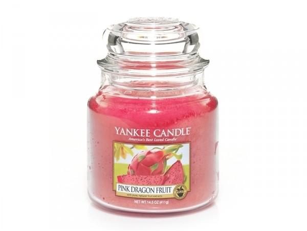 Acheter Bougie Yankee Candle - Pink Dragon Fruit / Fruit du Dragon rose - Moyenne Jarre - 24,89€ en ligne sur La Petite Epic...