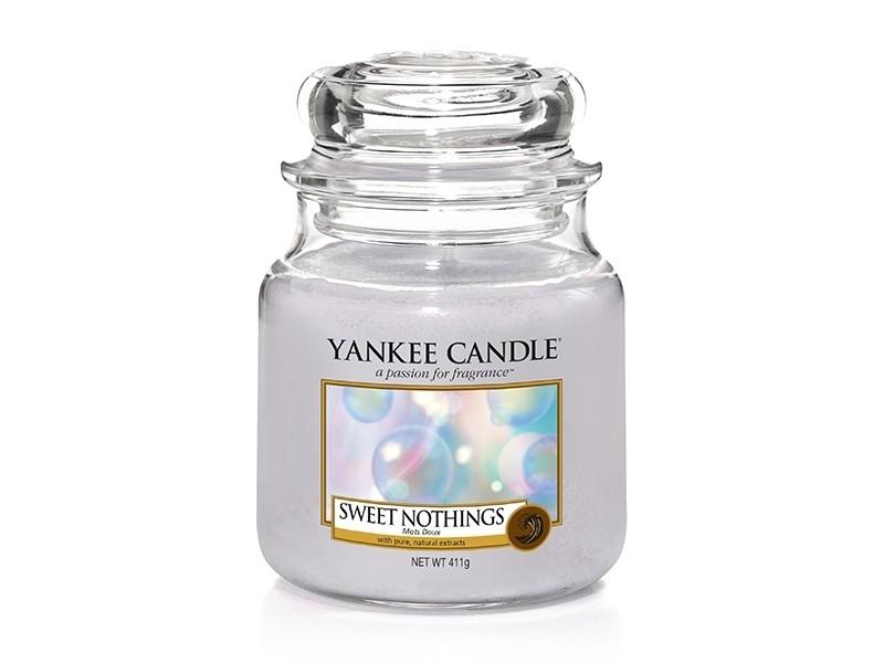 Acheter Bougie Yankee Candle - Sweet Nothings / Mots Doux - Moyenne Jarre - 24,89€ en ligne sur La Petite Epicerie - Loisirs...