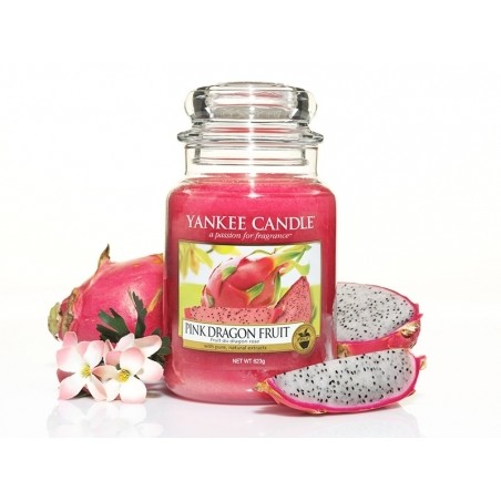 Acheter Bougie Yankee Candle - Pink Dragon Fruit / Fruit du Dragon rose - Petite Jarre - 11,89€ en ligne sur La Petite Epice...