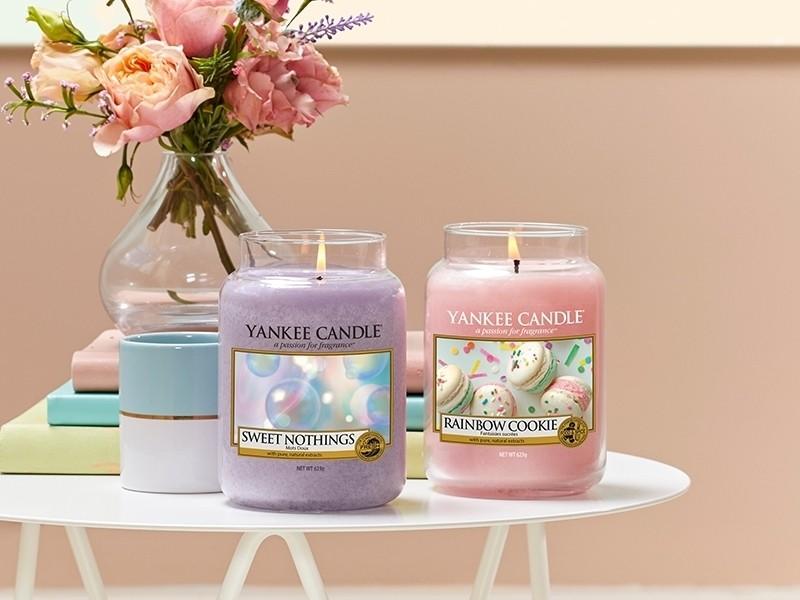 acheter bougie yankee candle sweet nothings mots doux tartelette de cire en ligne