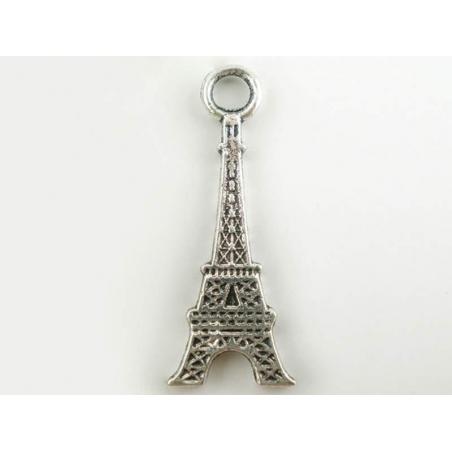 Acheter 1 breloque tour eiffel 2D - argentée foncée  - 0,59€ en ligne sur La Petite Epicerie - Loisirs créatifs
