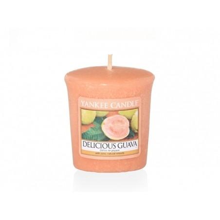 Acheter Bougie Yankee Candle - Delicious Guava / Délice de goyave - Bougie votive - 2,69€ en ligne sur La Petite Epicerie - ...