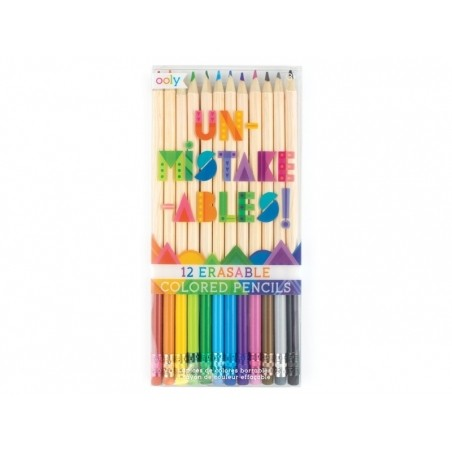 Acheter 12 Crayons de couleur effaçables - Unmistakeables - 13,49€ en ligne sur La Petite Epicerie - Loisirs créatifs