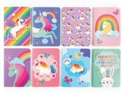 Lot de 8 petits carnets licornes Ooly - 1