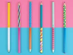 Acheter Lot de 6 crayons en graphite - Marbre coloré - 7,49€ en ligne sur La Petite Epicerie - Loisirs créatifs
