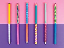 Acheter Lot de 6 crayons en graphite - Motifs risographiques - 7,49€ en ligne sur La Petite Epicerie - 100% Loisirs créatifs