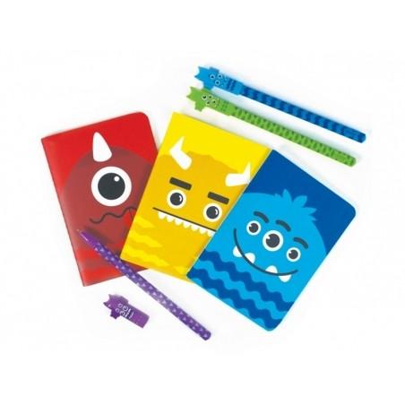 Acheter Lot de 4 stylos gel à pointe fine noire - Monstres - 8,99€ en ligne sur La Petite Epicerie - 100% Loisirs créatifs