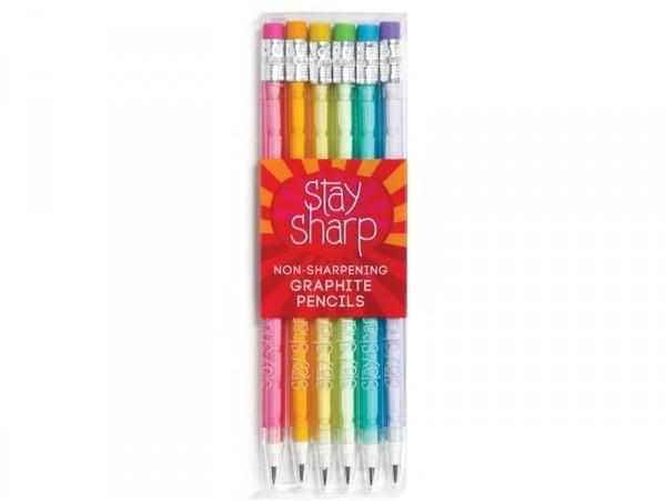 Acheter Lot de 6 crayons graphite à mines empilables - Arc-en-ciel - 10,49€ en ligne sur La Petite Epicerie - Loisirs créatifs