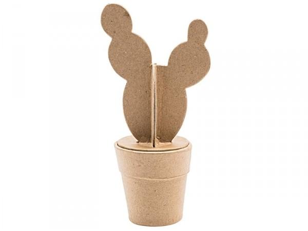 Acheter Cactus boule en papier mâché - boite secrète - 6,19€ en ligne sur La Petite Epicerie - 100% Loisirs créatifs