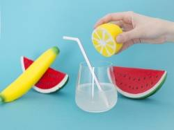 Acheter Petit Squishy demi-citron - anti stress - 4,99€ en ligne sur La Petite Epicerie - 100% Loisirs créatifs