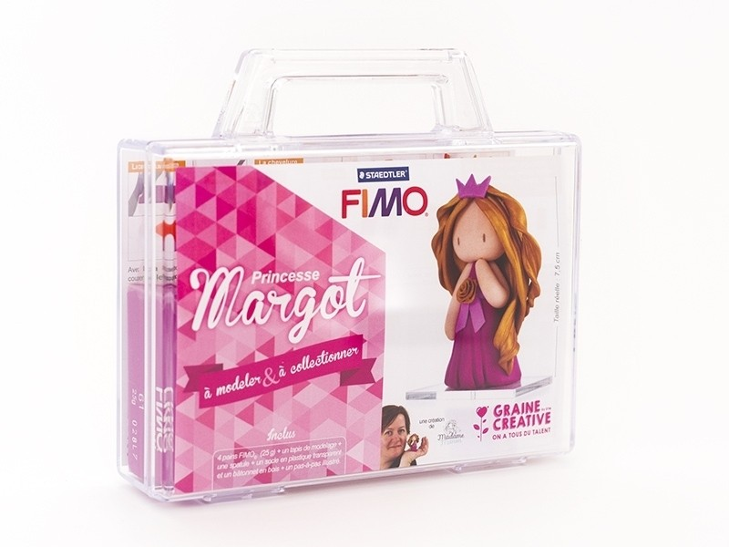 Acheter Kit Fimo - Malette Princesse Margot - figurine à modeler - 13,99€ en ligne sur La Petite Epicerie - Loisirs créatifs