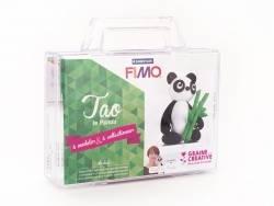 Kit Fimo - Malette Tao le panda- figurine à modeler