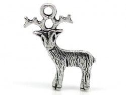 Acheter 1 breloque renne de noël - argentée - 0,79€ en ligne sur La Petite Epicerie - 100% Loisirs créatifs