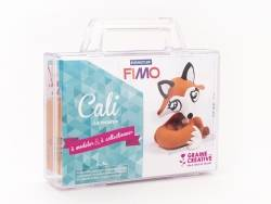 Kit Fimo - Malette Cali la renarde - figurine à modeler Fimo - 1