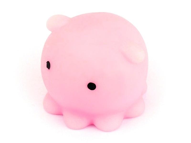 Acheter Mini squishy Pieuvre rose - anti stress - 1,99€ en ligne sur La Petite Epicerie - 100% Loisirs créatifs