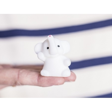 Mini squishy Éléphant blanc - anti stress  - 2