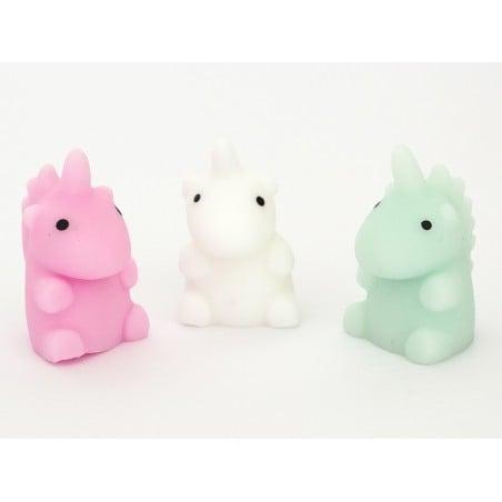 Acheter Mini squishy Licorne vert d'eau - anti stress - 1,99€ en ligne sur La Petite Epicerie - Loisirs créatifs