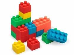 Acheter Lot de 16 gommes en forme de briques de construction - 3,99€ en ligne sur La Petite Epicerie - 100% Loisirs créatifs