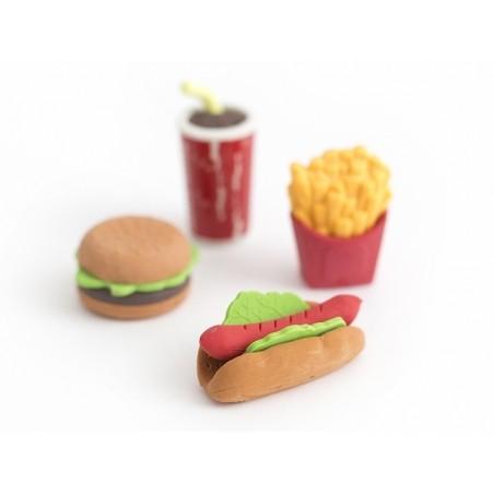 Acheter Lot de 4 gommes - fast food - 4,49€ en ligne sur La Petite Epicerie - 100% Loisirs créatifs