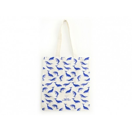 Tote bag baleines  Season Paper - 1