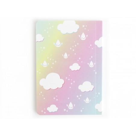 Petit carnet de poche - Licorne et arc-en-ciel Sass&Belle - 2