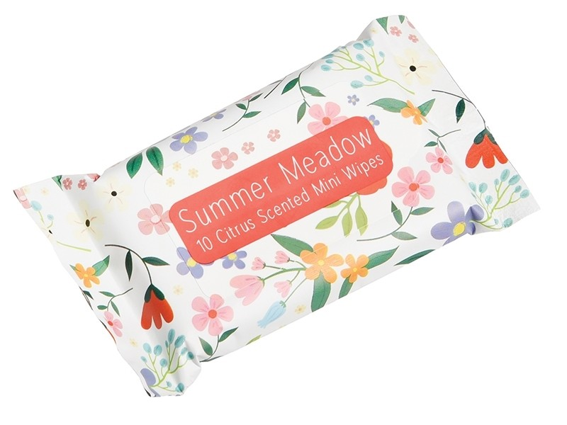 """Lingettes humides pour le modelage - """"Summer Meadow"""" Dotcomgiftshop - 1"""