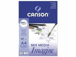 Bloc papier Canson A4 - 200g/m²