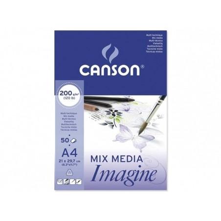 Acheter Bloc papier Canson Imagine A4 - 200g/m² - 8,90€ en ligne sur La Petite Epicerie - 100% Loisirs créatifs