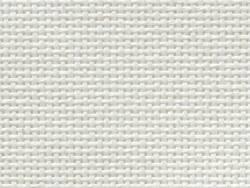 Toile à broder étamine pour punch needle - Davosa - blanc cassé