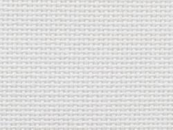 Toile à broder étamine pour punch needle - Davosa - blanc