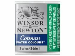 Acheter Aquarelle fine Winsor et Newton - Vert Phtalo (vert intense) - 1/2 godet - 2,19€ en ligne sur La Petite Epicerie - 1...