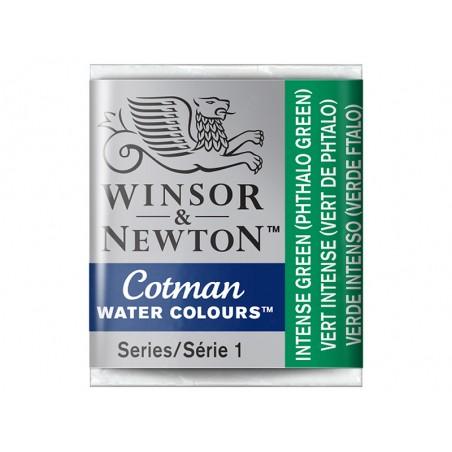 Aquarelle fine Winsor et Newton - Vert Phtalo (vert intense) - 1/2 godet Winsor & Newton - 2