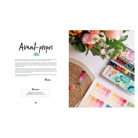 Acheter Livre Fleurs à l'aquarelle : Une initiation de Marie Boudon - 22,50€ en ligne sur La Petite Epicerie - Loisirs créatifs