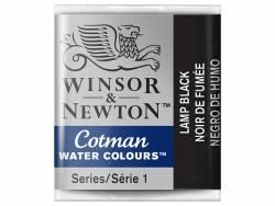 Aquarelle fine Winsor et Newton - Noir de Fumée - 1/2 godet Winsor & Newton - 2
